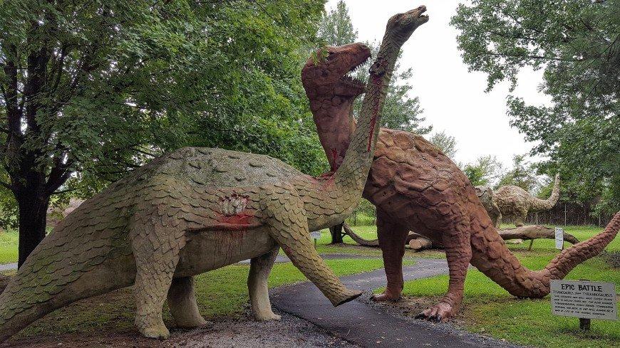 Сканирование помогло восстановить облик детенышей титанозавров