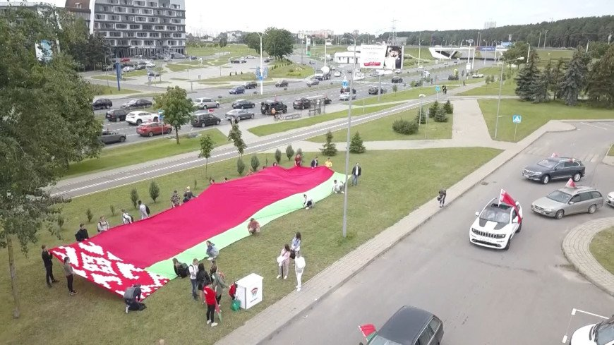 Участники автопробега в поддержку мира в Беларуси рассказали об акции