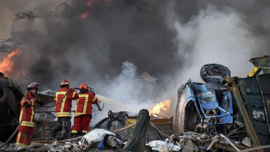 Путин выразил соболезнования президенту Ливана в связи со взрывом в Бейруте
