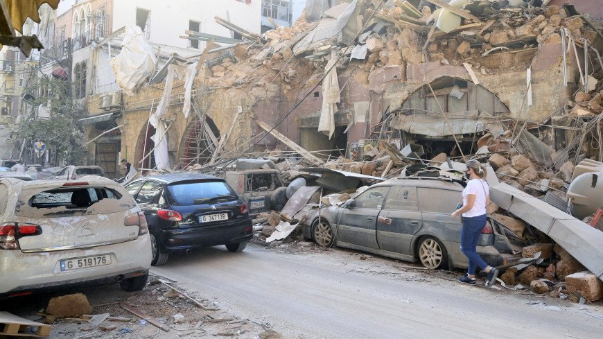 Ливанская трагедия: десятки стран готовы помочь разрушенному взрывом Бейруту