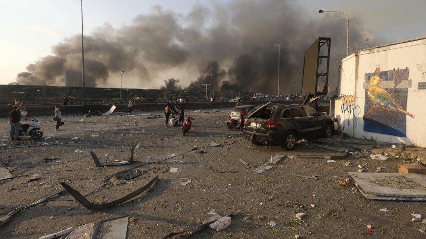 Взрыв в Бейруте: хронология событий