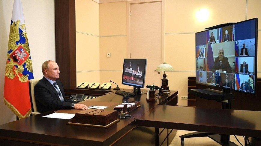 Путин обсудил ситуацию в Беларуси с постоянными членами СБ