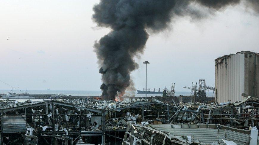 В Бейруте взорвалось почти три тысячи тонн селитры, ее конфисковали, но не успели утилизировать