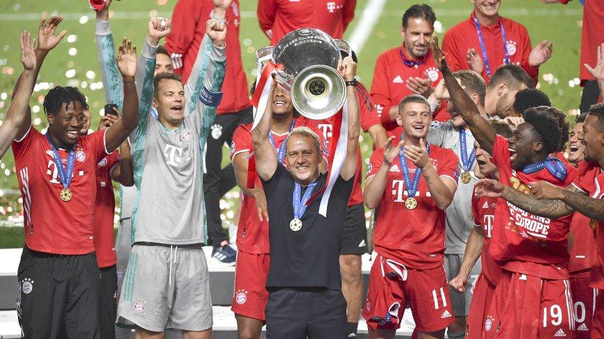 «Бавария» выиграла Лигу Чемпионов