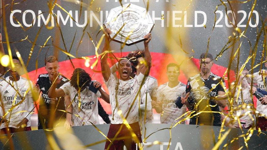 Лондонский «Арсенал» победил «Ливерпуль» и выиграл Суперкубок Англии