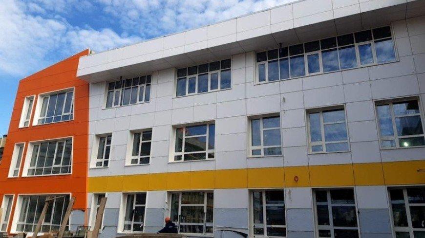 В городе Тулун Иркутской области построили новую школу на 1275 мест