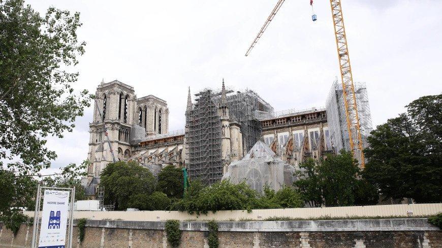 В Нотр-Дам-де-Пари начались работы по реставрации органа