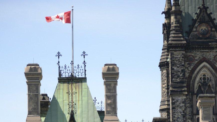 """Фото: """"Парламент Канады"""":http://www.parl.gc.ca/, парламент канады, канада, флаг канады"""