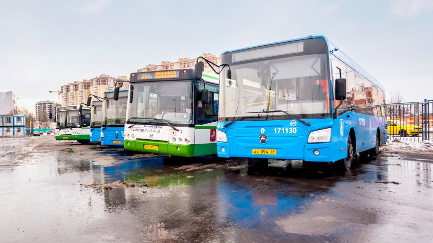 В Москве запустят автобусные маршруты для учащихся с 1 сентября