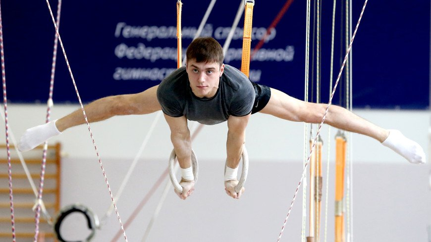 Российские гимнасты после теста на коронавирус приступили к тренировкам в Подмосковье
