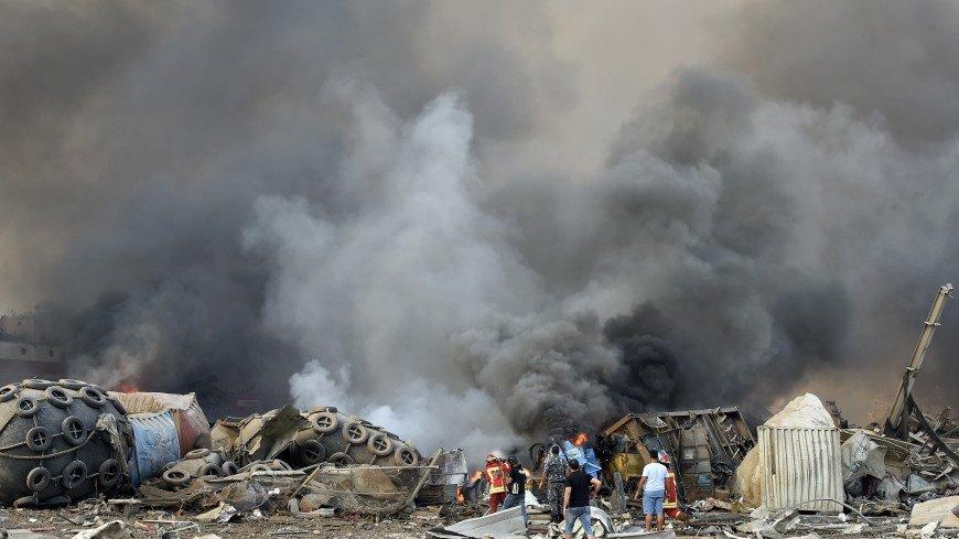Десятки жертв и тысячи раненых: хронология разрушительного взрыва в Бейруте