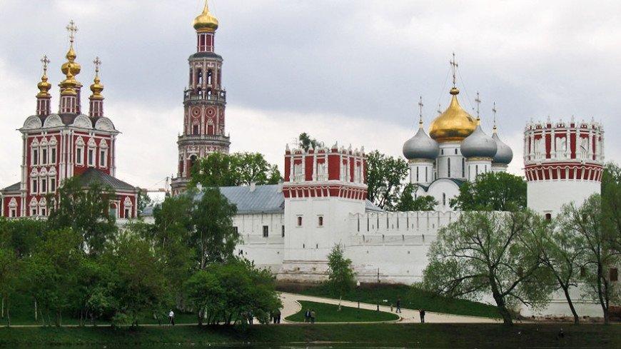 В Новодевичьем монастыре найдены фрагменты стены времен Бориса Годунова