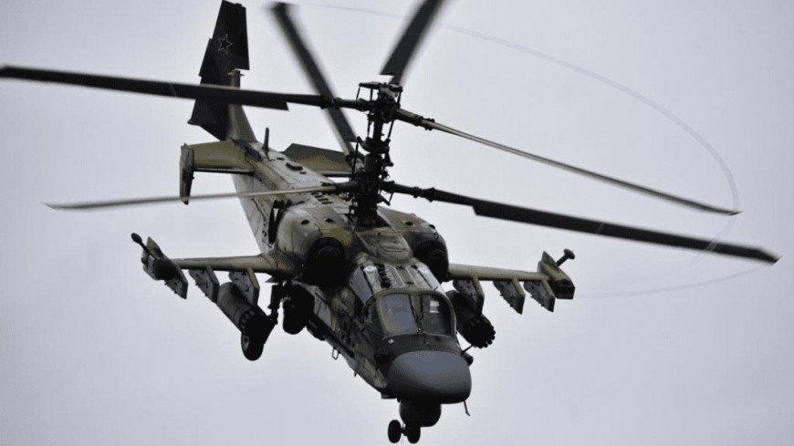 Российский вертолет Ка-52М «Аллигатор» совершил первый полет