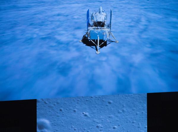 Историческое событие: китайский зонд «Чанъэ-5» приступил к бурению лунного грунта