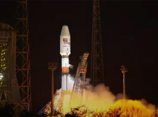 Ракета «Союз» со спутником ОАЭ успешно стартовала с космодрома Куру