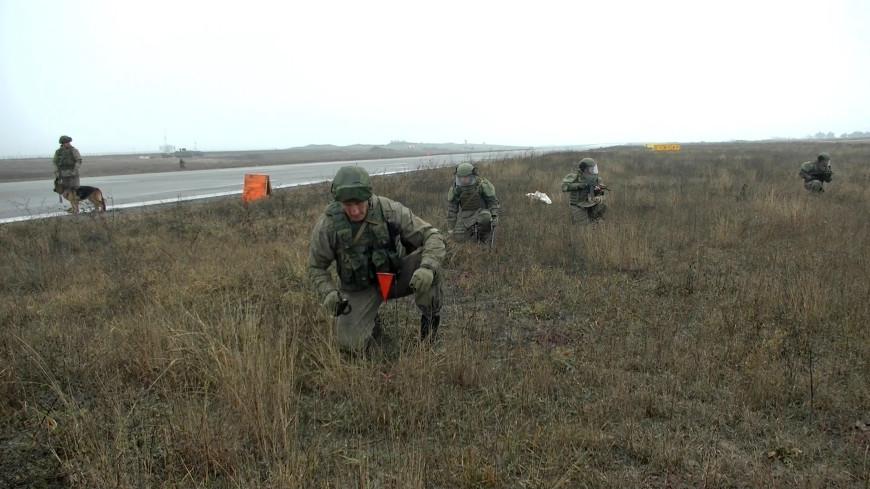 Российский офицер погиб при разминировании территории в Нагорном Карабахе