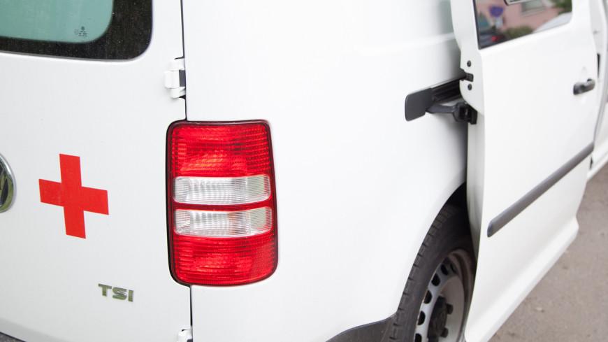 На юге Москвы произошло ДТП с участием автомобиля скорой помощи