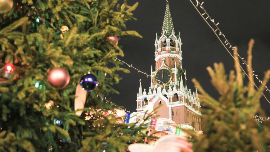 красная площадь, новый год, рождество, новый год 2020, спасская башня, кремль