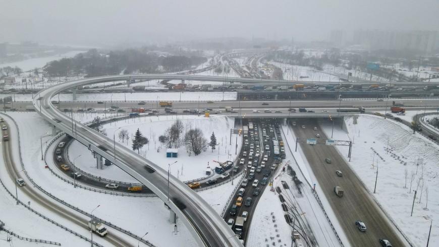 Открыто движение по развязке МКАД с Волоколамским шоссе