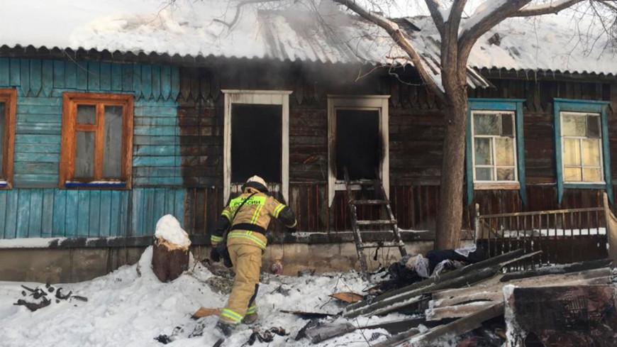 Четыре человека погибли в результате пожара в Новосибирске