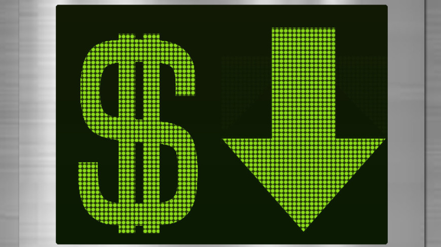Курс доллара на Московской бирже впервые с 18 августа опустился ниже 73 рублей