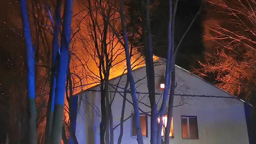 Прокуратура организовала проверку по факту пожара в лаборатории ФМБА в Красногорске