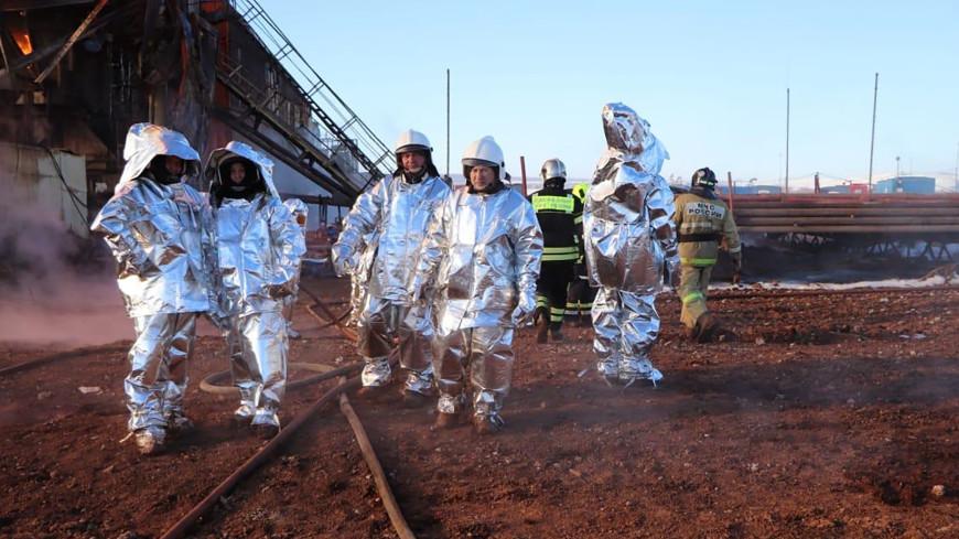 Пожар на нефтяной скважине в Оренбургской области полностью ликвидирован
