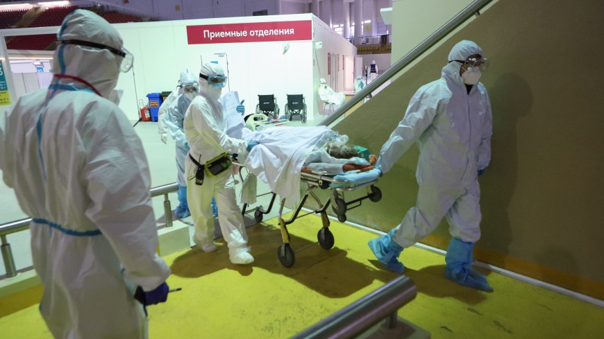 В Москве за сутки скончались 75 пациентов с COVID-19