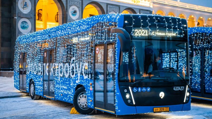 В Москве электробусы начали курсировать по еще двум маршрутам