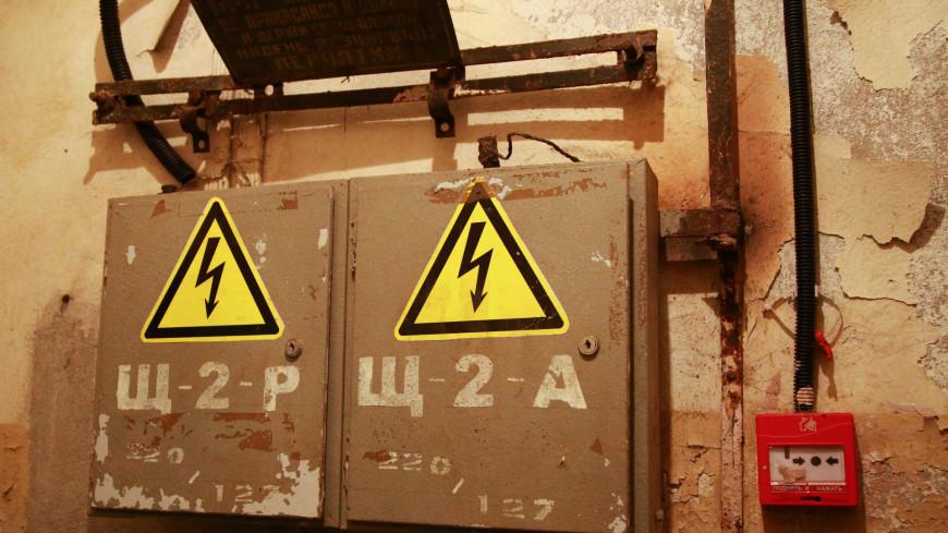 На севере Москвы из-за пожара в коллекторе 13 домов остались без электричества