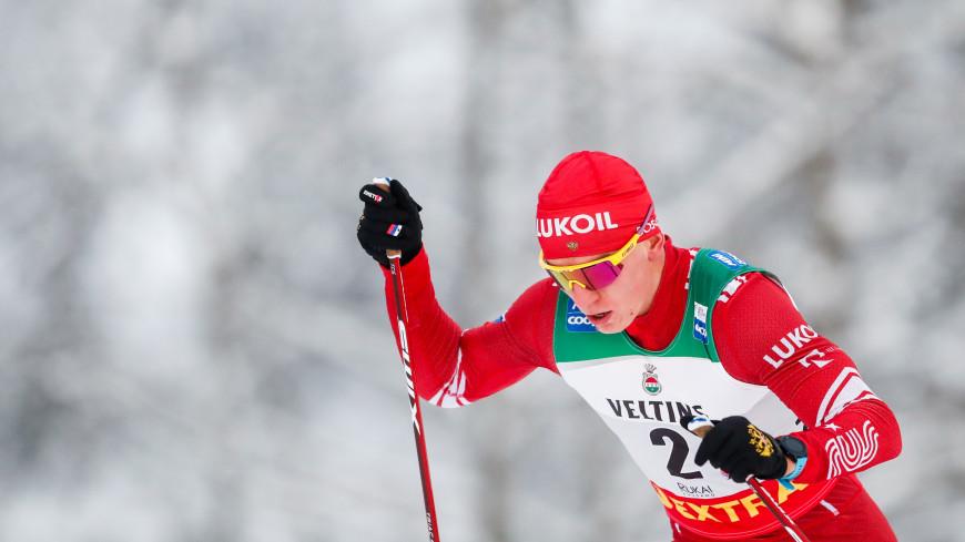 Российские лыжники заняли все призовые места в гонке с раздельным стартом на этапе КМ в Давосе