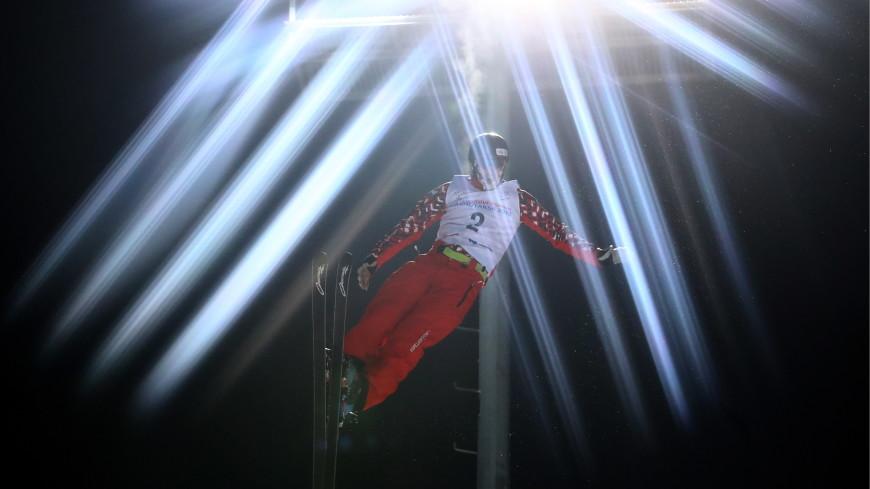 Максим Буров победил в лыжной акробатике на этапе Кубка мира по фристайлу