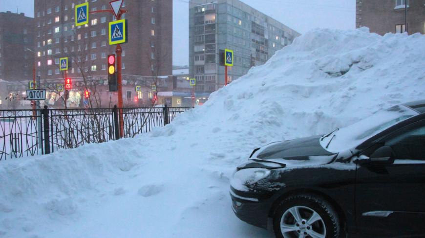 Борьба со стихией: из Норильска вывезли 400 тысяч тонн снега