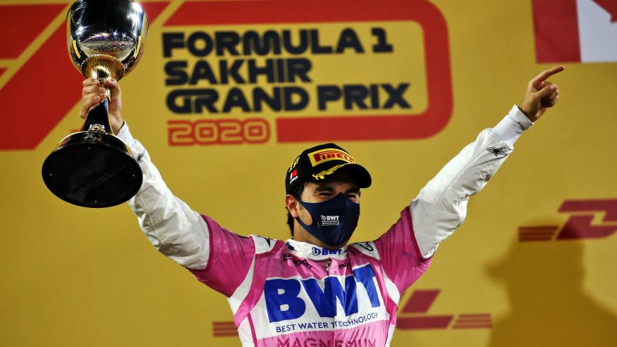 Серхио Перес впервые в карьере стал победителем Гран-при «Формулы-1»