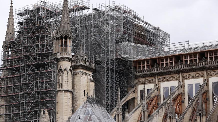 Орган Нотр-Дам-де-Пари демонтировали для реставрации после пожара