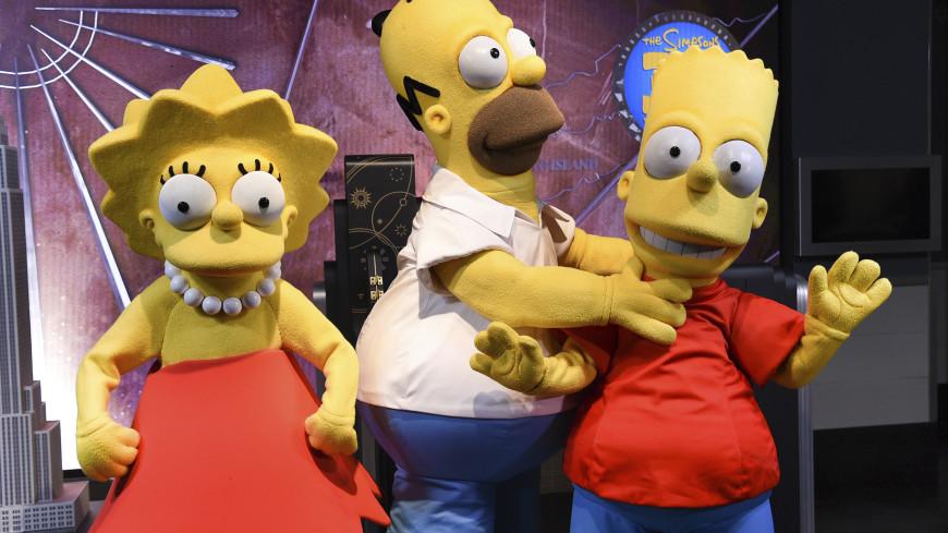 Мультфильм «Симпсоны» перерисовали в стиле СССР (ФОТО)