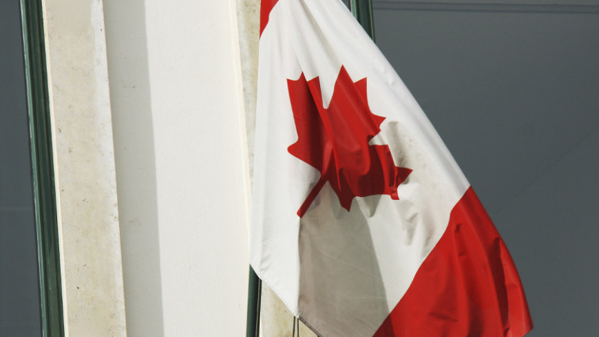 © Фото: Мария Чегляева, «МИР 24», флаг канады