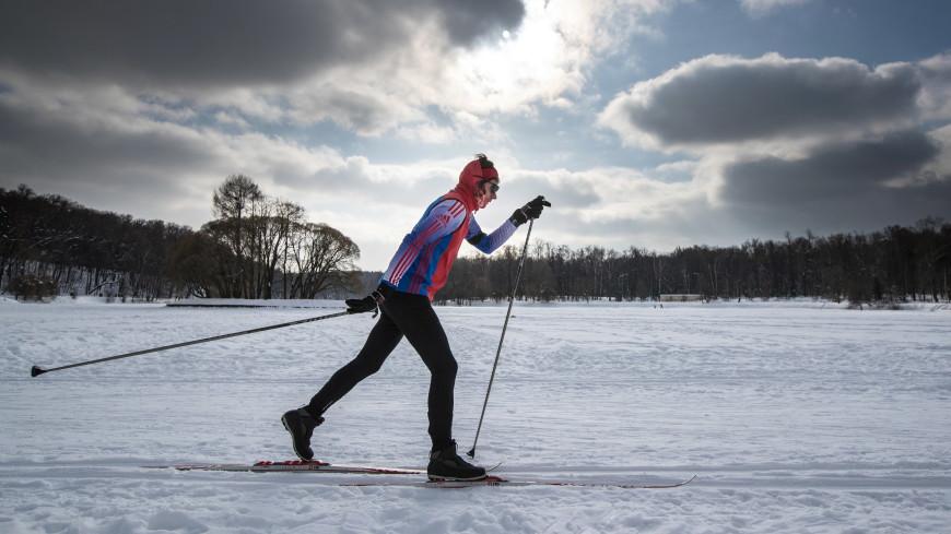 Синоптик: В центре европейской части России на этой неделе будет хорошая погода для лыжных прогулок