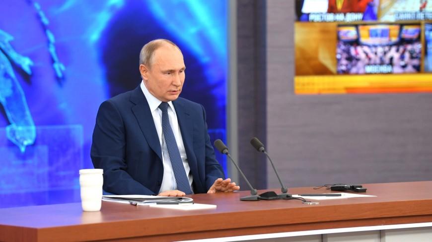 Путин: Производство масок в России в пандемию увеличилось в 20 раз