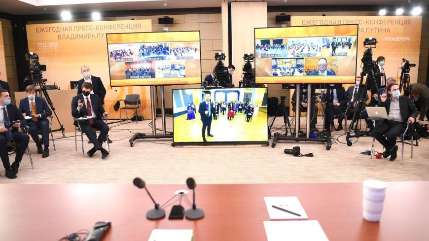Главный оператор «МИРа» Ходаковский: Сделали из старого зала студию к пресс-конференции Путина
