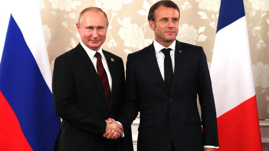 Путин направил телеграмму заразившемуся COVID-19 Макрону