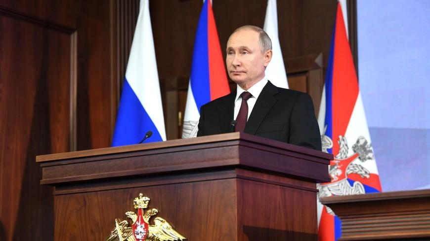 Путин присвоил главе МЧС Зиничеву звание генерала армии
