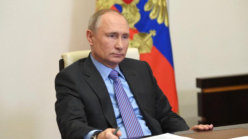 Путин поздравил президента МОК Томаса Баха с днем рождения