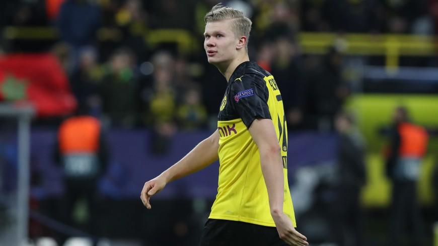 Нападающий «Боруссии» Холанд признан лучшим молодым футболистом Европы