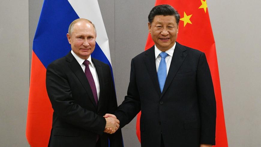 Владимир Путин и Си Цзиньпин обменялись новогодними поздравлениями