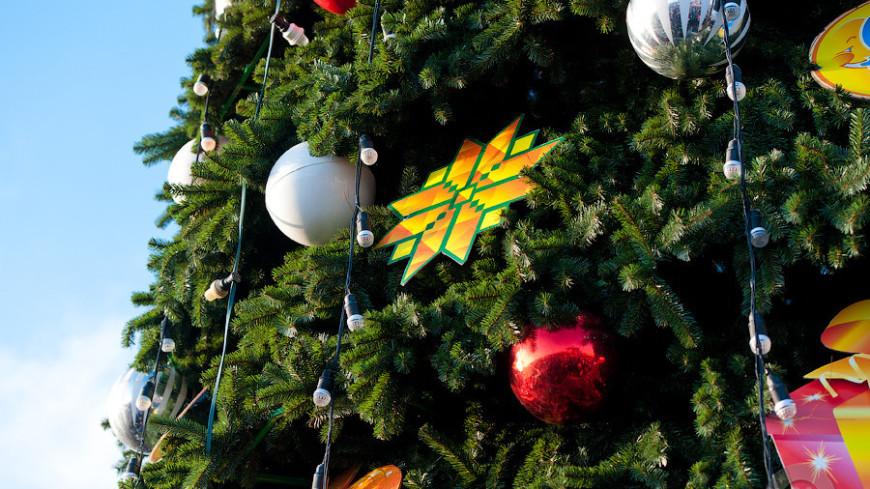 Предновогоднюю Коломну украсили елки, арка с часами и хрустальная карета