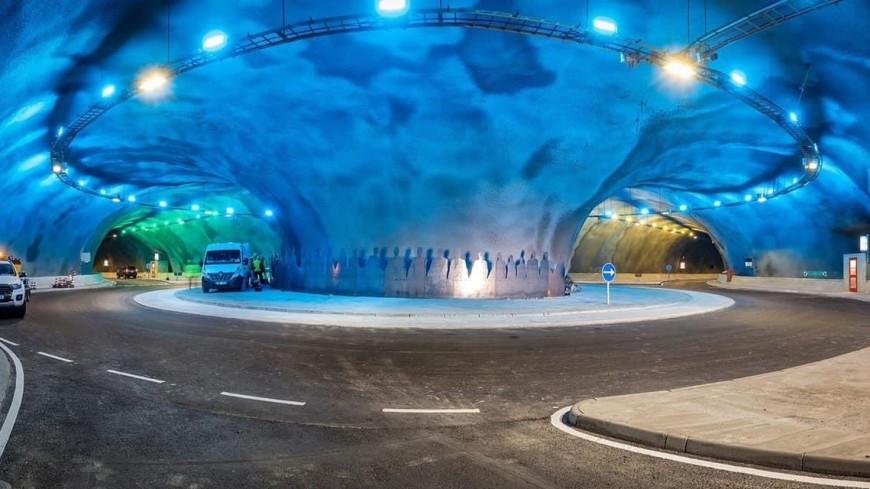 На Фарерских островах построили первую в мире развязку на дне Атлантического океана