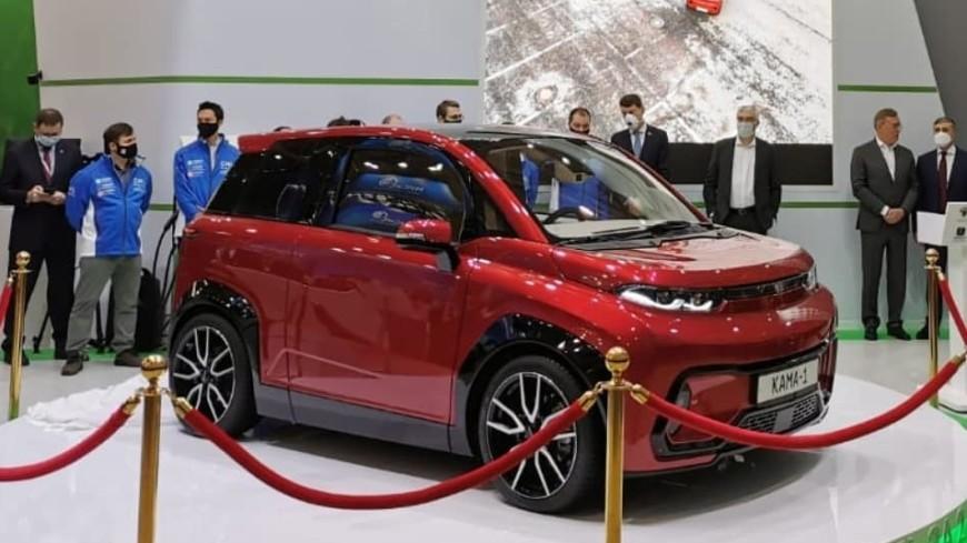 Представлен предсерийный образец российского электромобиля «Кама-1»