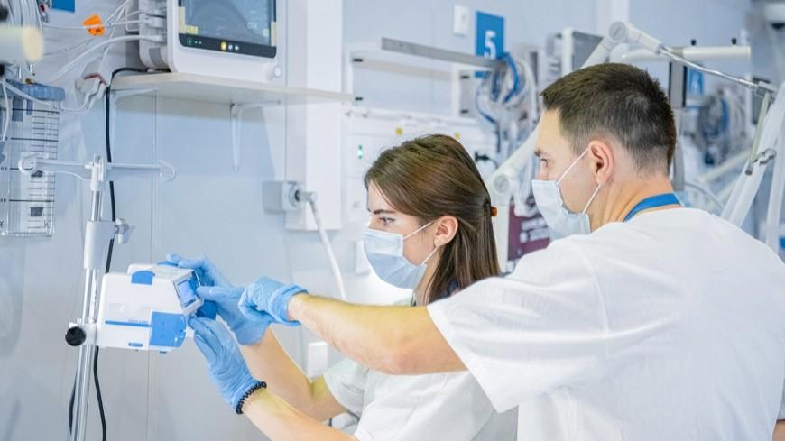 Собянин открыл на ВДНХ отделение госпиталя для пациентов с коронавирусом