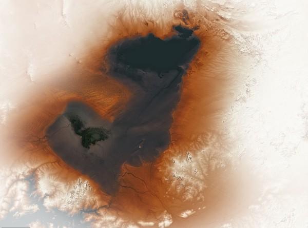 NASA опубликовало снимок древнего «озера-призрака» из Африки